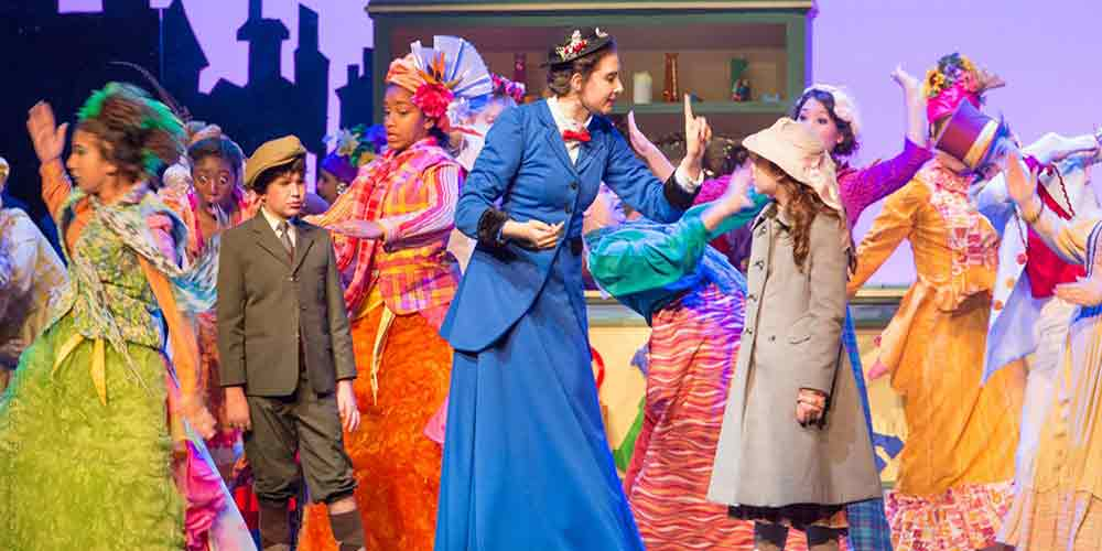 Mary Poppins costume rentals from Front Row Theatrical Rental