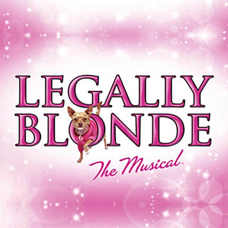 Legally Blonde musical logo