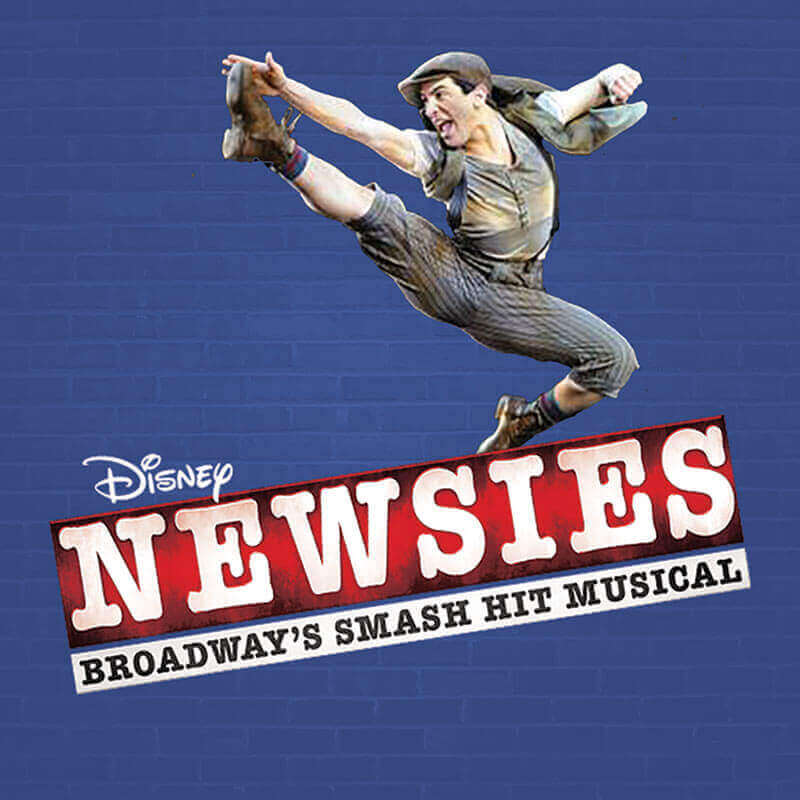 Newsies musical logo