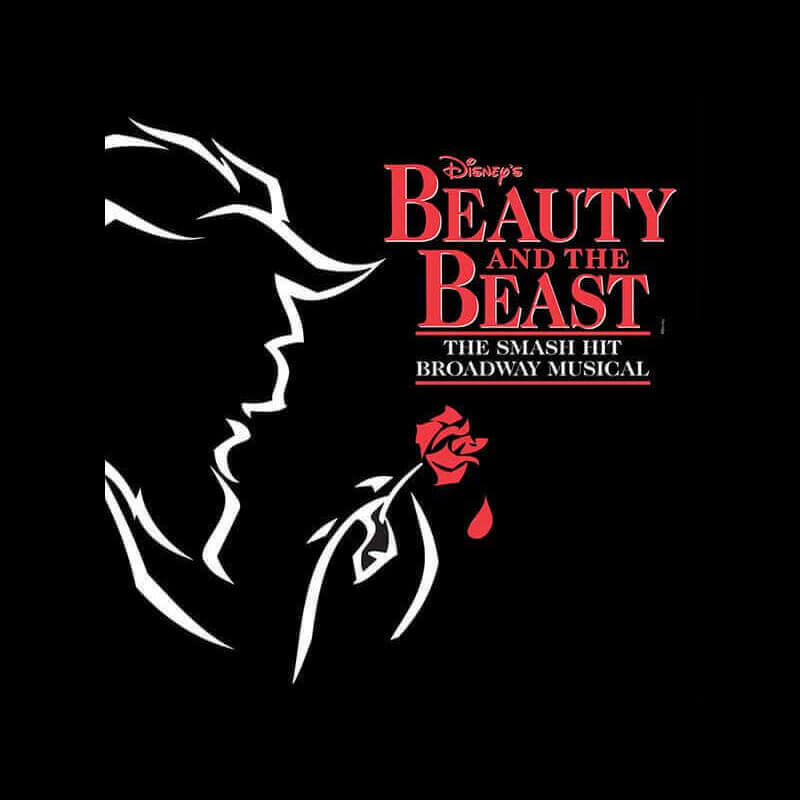 Beauty and the Beast musical logo
