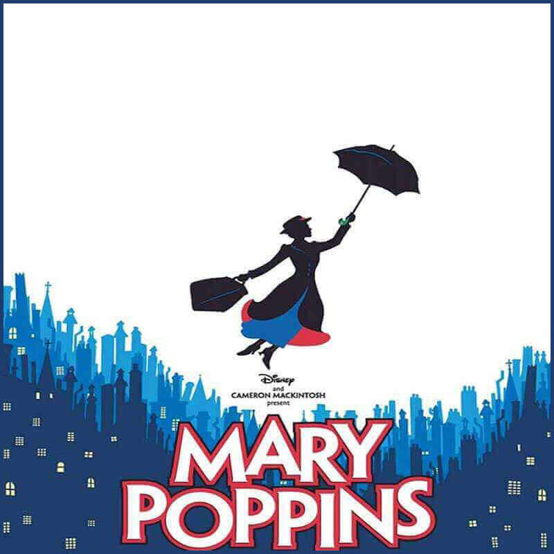 Mary Poppins musical logo