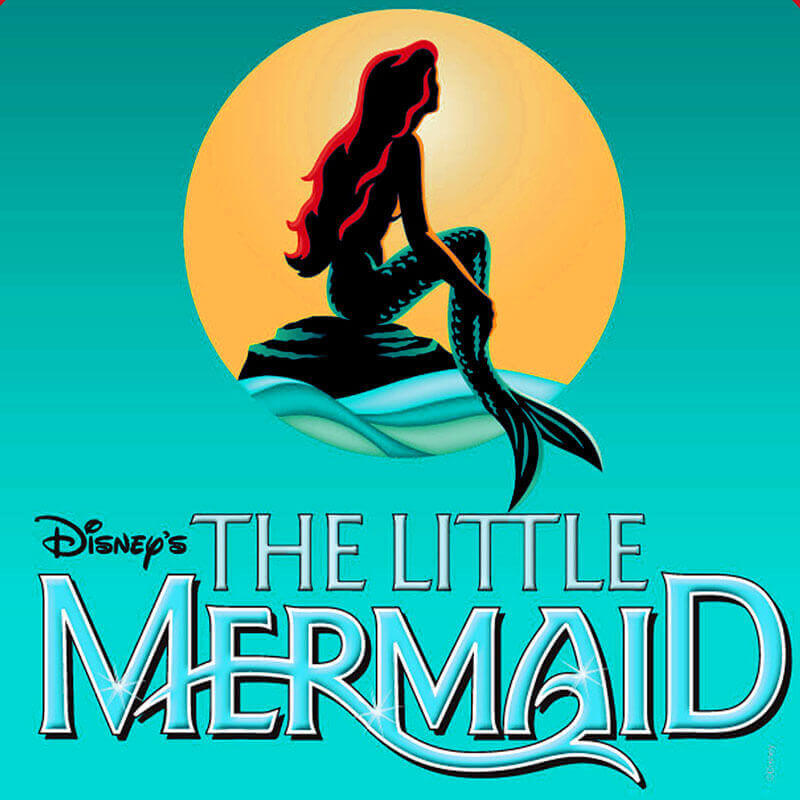 Little Mermaid musical logo